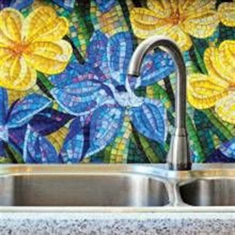 mosaic flower power on mosaics mosaic