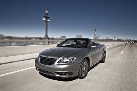 chrysler   convertible top speed