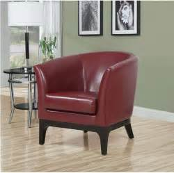 Living Room Red Accent Chair