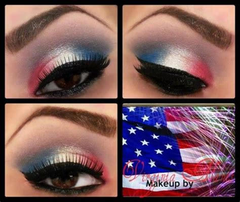 july fourth eye makeup tutorials pictures