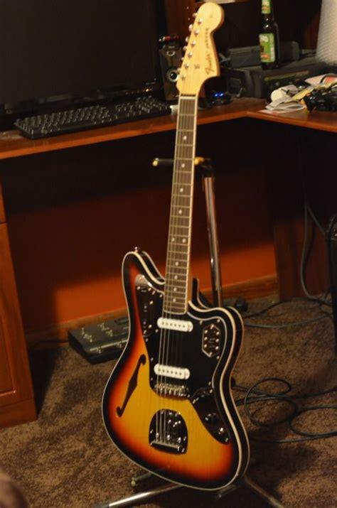 Fender Thinline Jaguar by Fender Thinline Jaguar Semi Hollowbody From Fender Japan
