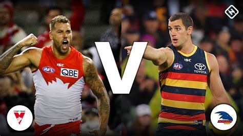 sydney swans  adelaide crows teams odds