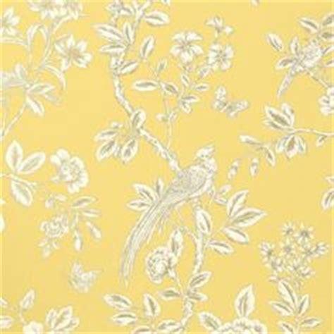papier peint oiseaux jaune soraya thibaut au fil des