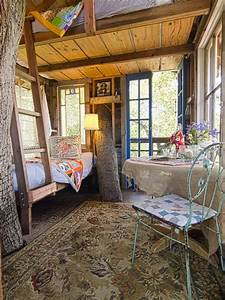 Inside tree house | Small abodes | Pinterest