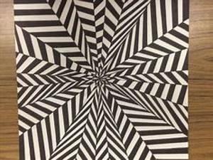 drawable graph paper drawn optical illusion free clipart on gotravelaz com