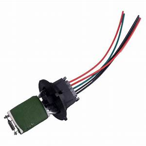 Heater Motor Resistor Connector  U0026 Wiring Harness Fit For