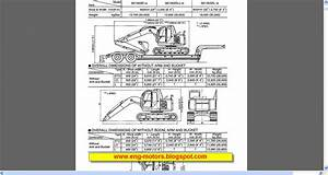 Kobelco Excavators Repair Manuals
