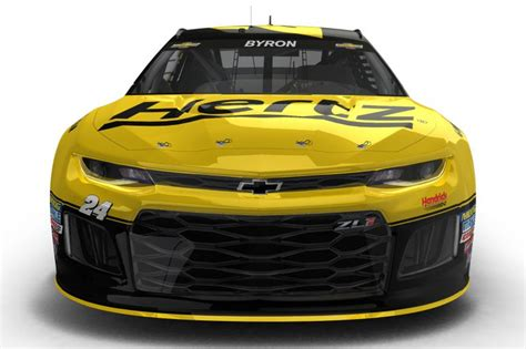 Hertz Nascar Race Car To Be Driven By William Byron