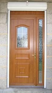 Ideal ouverture for Porte d entrée pvc en utilisant porte entree pvc couleur bois