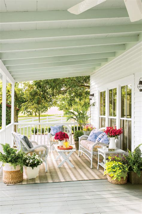 Southern Front Porch Whistler by Porch And Patio Design Inspiration Southern Living