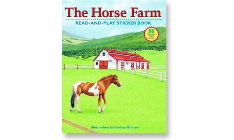 the farm sticker book horseloverz
