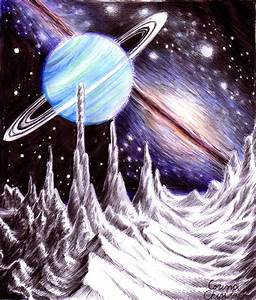 Uranus Planet Drawing - Pics about space