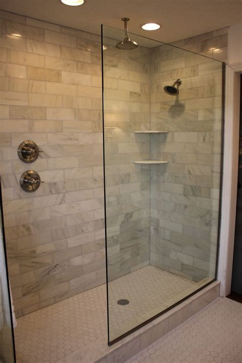 A Walk In Shower by Doorless Walk In Shower Designs Shower Handle On Separate