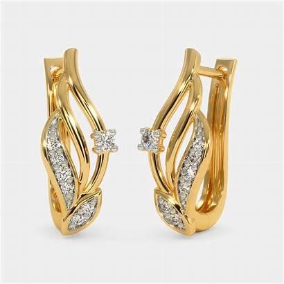 Earrings Gold Hoop Jewellery Diamond Designs Bluestone