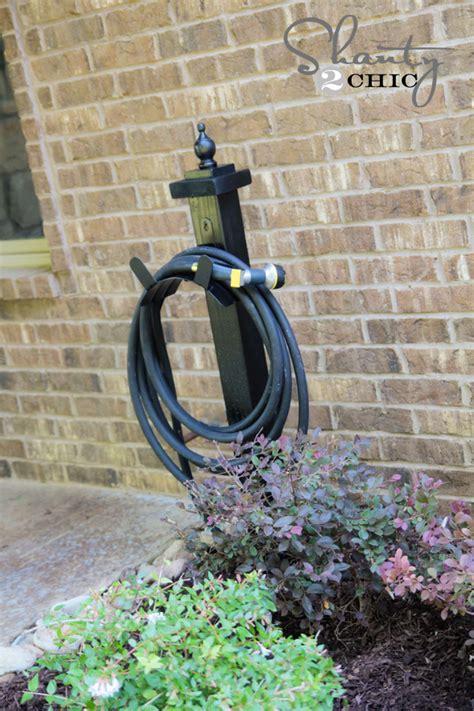 garden hose holder hose holder for the garden diy shanty 2 chic
