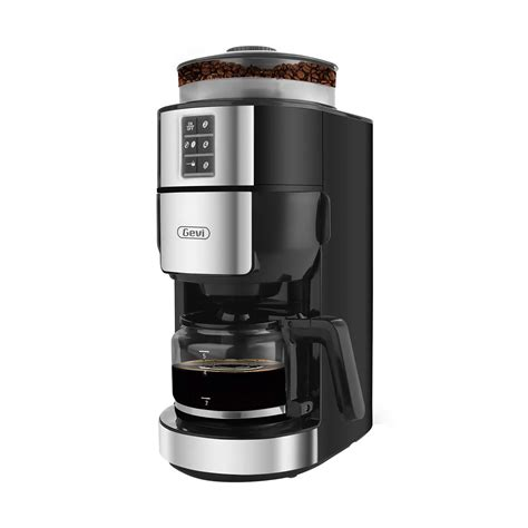The magic of having a bean to cup coffee machine (or a coffee machine with grinder built in) is that in the morning all you just need to do is push a button and out comes a high quality freshly ground coffee of coffee. Grind and Brew Coffee Maker with Built-In Burr Coffee Grinder, Drip Coffee Machine, 5-Cups ...