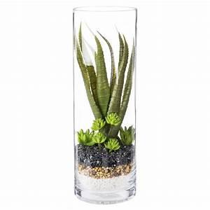 Terrarium Plante Deco : terrarium en verre plante artificielle maisons du monde ~ Dode.kayakingforconservation.com Idées de Décoration