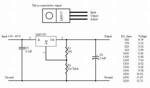 integrated thoughts how to make a variable power supply With an adjustable voltage regulator lm317 to design the charging circuit