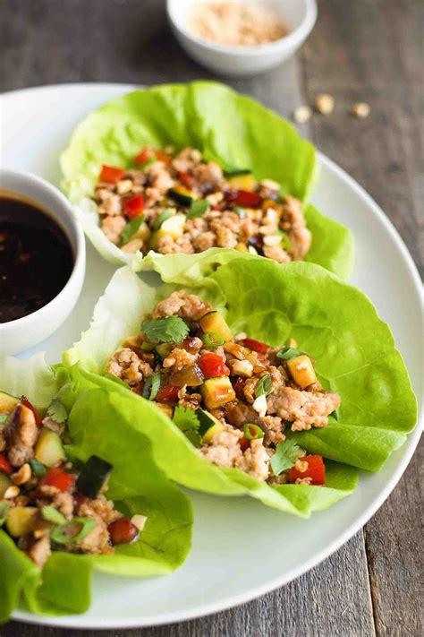 teriyaki chicken lettuce wraps recipe simplyrecipes com