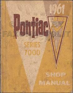 1961 Pontiac Tempest  Lemans  Safari Repair Shop Manual Original