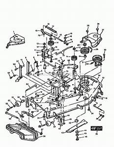 Craftsman Mower Deck Parts Diagram