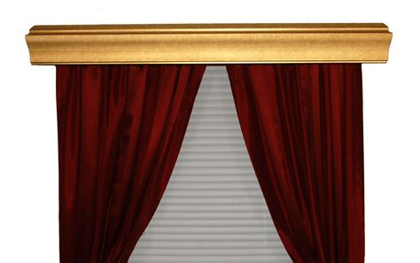 Bcl Drapery Hardware, Double Curtain Rod Cornice, Baxter