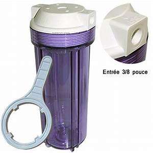 Porte Filtre Photo : porte filtre osmoseur 9 3 4 pouce transparent entr e 3 8 filtre de purificateur d 39 eau de boisson ~ Medecine-chirurgie-esthetiques.com Avis de Voitures