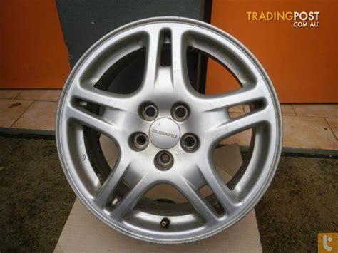 wheels subaru impreza rx my06 16 inch genuine alloys