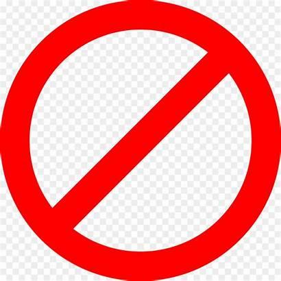 Circle Clipart Line Through Sign Clip Caution