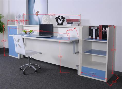 wall bed with desk wall bed desk units from murphysofa balances items on the