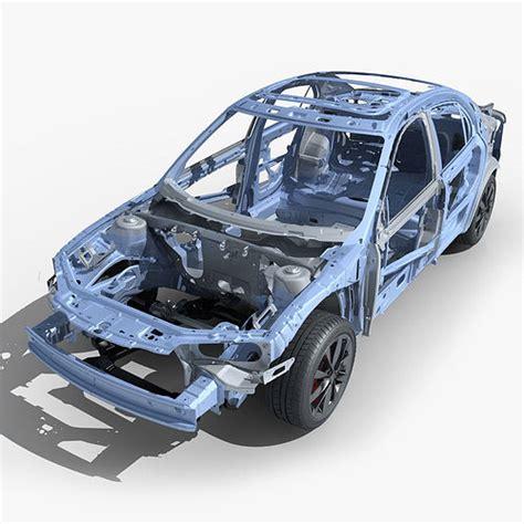 Car Frame by 3d Model Car Frame 03 Cgtrader