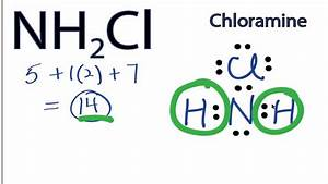 Nh2cl Lewis Structure  How To Draw The Lewis Structure For