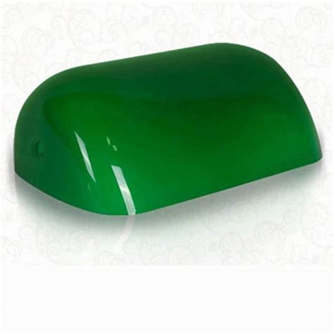 green desk l shade newrays ts101 newrays replacement green glass bankers l