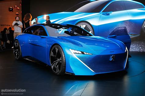 peugeot cars peugeot instinct concept shines in geneva with french