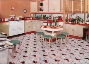 designer linoleum 1940s kitchens design inspiration from 1941 nairn linoleum