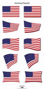 American Flag Clip Art Vector Many Interesting Cliparts
