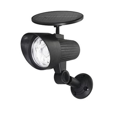 hton bay solar led motion sensor light the home depot