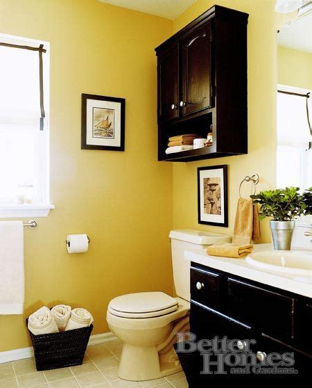 Bathroom Ideas Yellow Walls by The Black With The Yellow This Looks About The Size