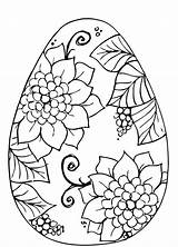 Coloring Easter Pages Adults Egg Pre Popular sketch template
