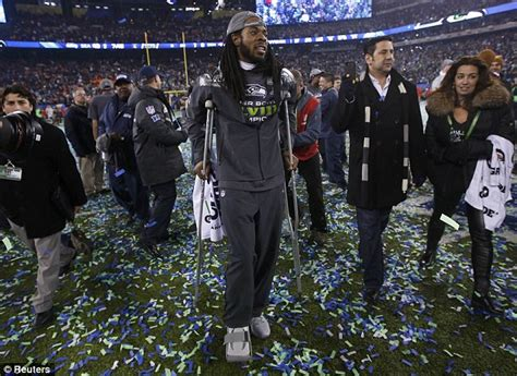 richard sherman roared   super bowl   lion