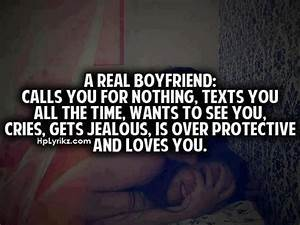 Facebook Quote Covers: A Real Boyfriend