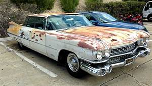 Sanded For No Reason  1959 Cadillac Sedan Deville