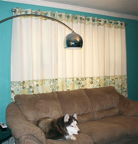 orange sugar tutorial lined grommet top curtains