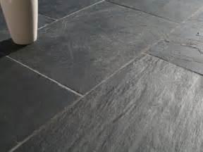 oiba black flagstone slate flooring trevail ca pietra