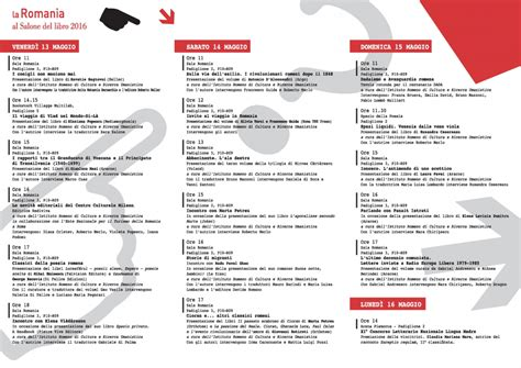 Consolato Romeno Torino by Appuntamento Con La Romania Al Salone Libro Di Torino