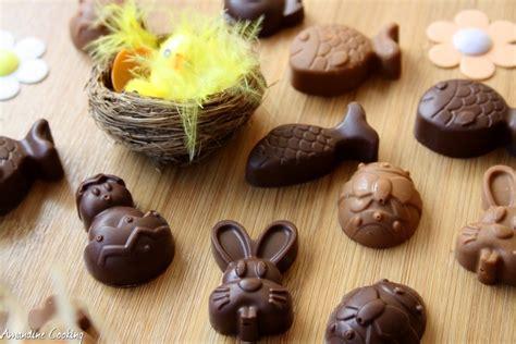 recette de chocolat maison chocolats de p 226 ques maison deux recettes amandine cooking