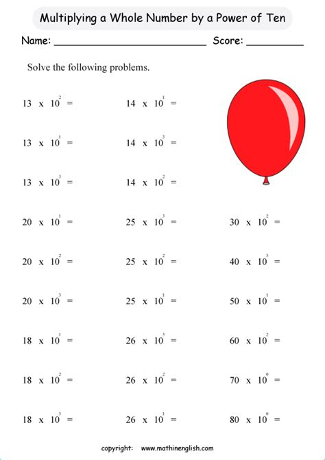multiplication   numbers  powers  ten great