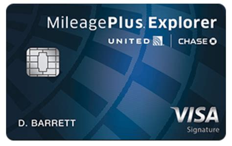 chase united mileageplus explorer card  updated june st