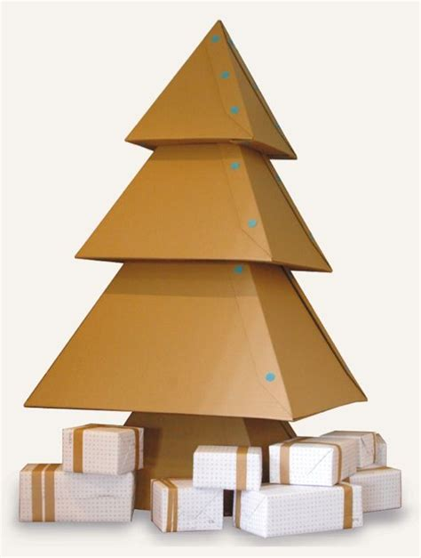 how to make cardboard christmas tree card board pinterest