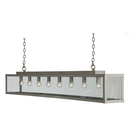 pendant lighting over kitchen table long bar suspension ceiling pendant light in painted grey